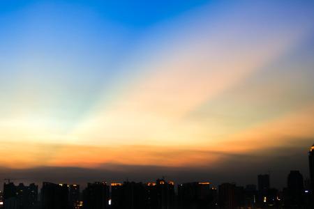 evening glow: evening glow Stock Photo