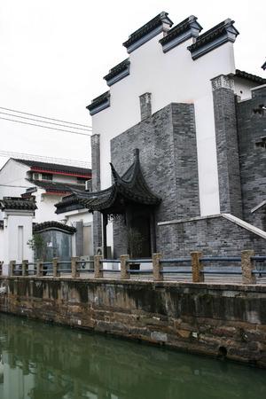 Suzhou style architecture Archivio Fotografico