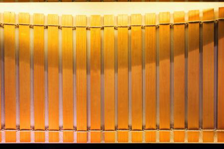 blank artificial inscribed bamboo slips Archivio Fotografico