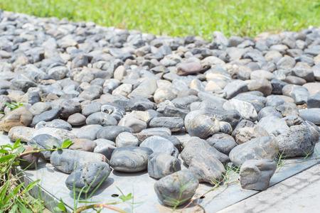 cobble: cobble stone background Archivio Fotografico