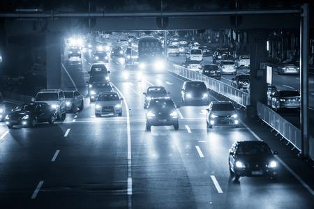 Guangzhou: Guangzhou night traffic