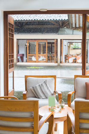 tea house: a chinese style tea house for relaxing