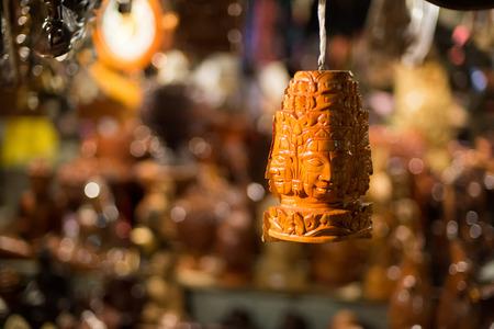 cabeza de buda: Buda cabeza decoración colgante