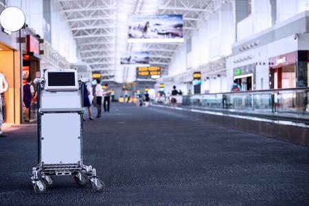 cart in airport