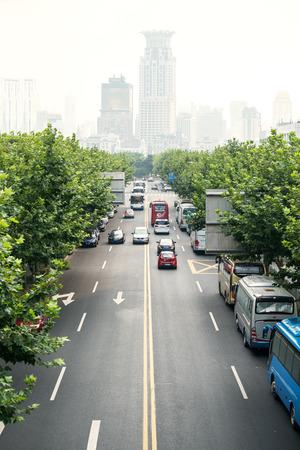 urban road: urban road scene