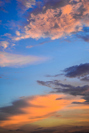evening glow: evening glow background