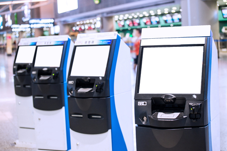check in machine in airport