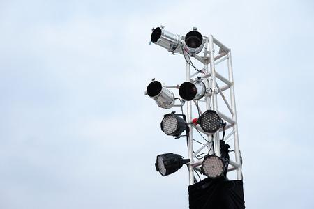 spot light: spot light on the stand