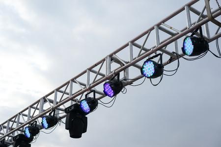 light spot: spot light on the stand