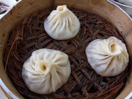 bao: Chinese steamed bun - Xiao Long Bao