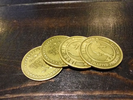 token: Game used token