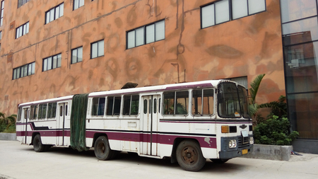 old bus: Old bus