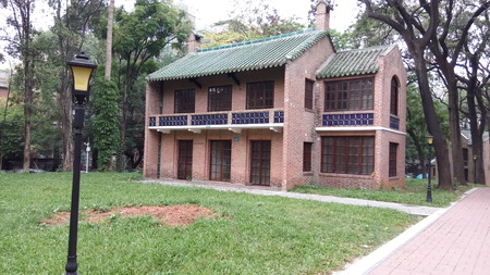 old building: Sun Yat-sen University and old building Editorial
