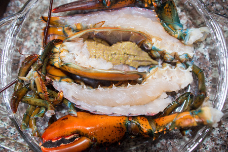 prepared: prepared lobster