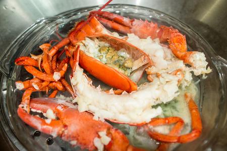 lobster pots: steamed lobster
