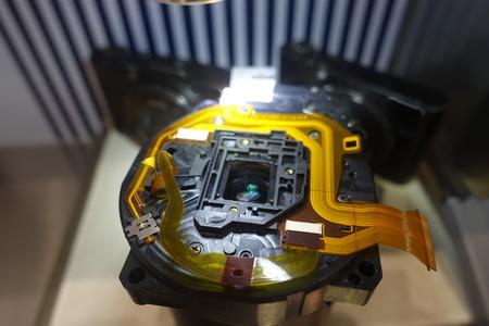 close circuit camera: camera component