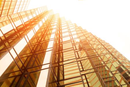 modern office buildings in downtown