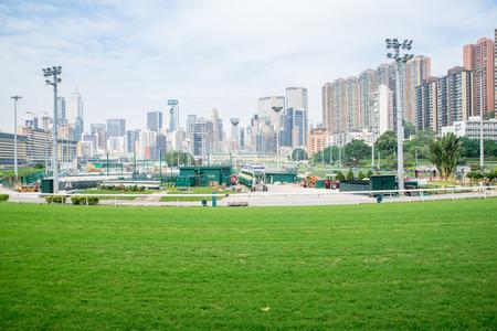 city building in Hong Kong