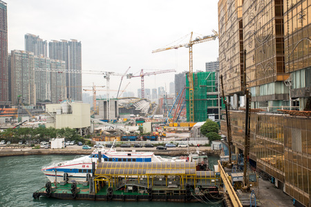 Dec. 3, 2016-Hong Kong: Hong Kong China Ferry Terminal.
