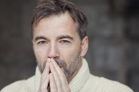 Man Thinking photo