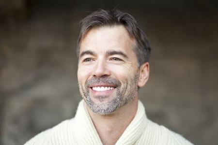 Portrait Of A Successful Mature Man Smiling photo