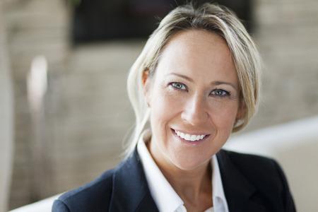 Portrait Of A Successful Businesswoman photo