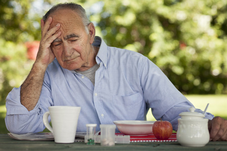 80 plus years: Depression Of A Senior Man