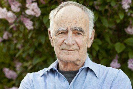 60 64 years: Portrait of Elderly man Stock Photo