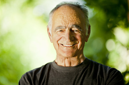 Active Senior Man Stock Photo