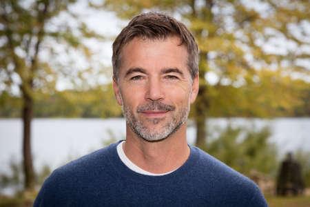 Handsome Mature Man smiling