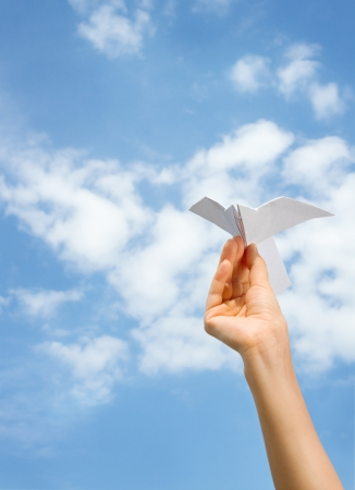 paper airplane photo