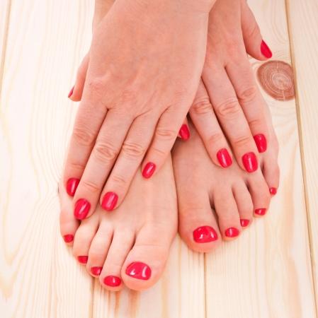 manicure and pedicure photo