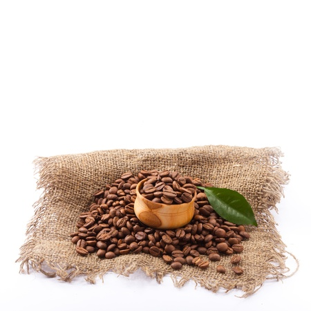 coffee beans close up  Stock Photo - 17239666