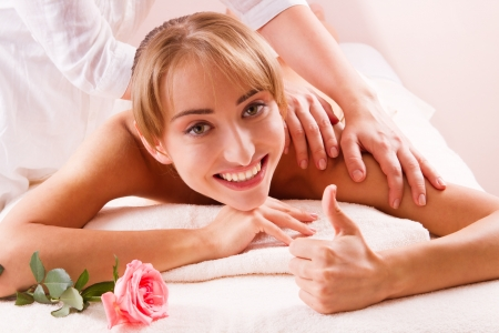 Beauty spa treatment photo