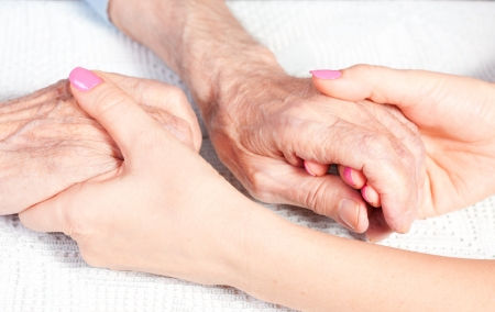 nursing young: care is at home of elderly