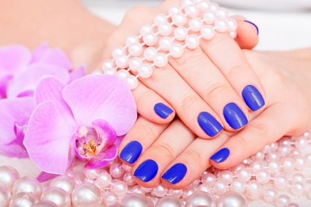 manicure and pedicure  body care, spa treatments photo