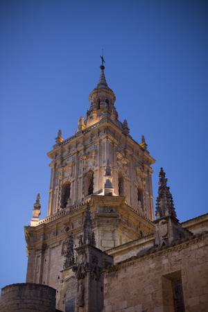 Cathedral Burgo de Osma, a small town of Soria, Spain