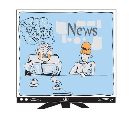 newscaster: Modern Media