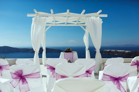 beautiful place for a wedding with sea view