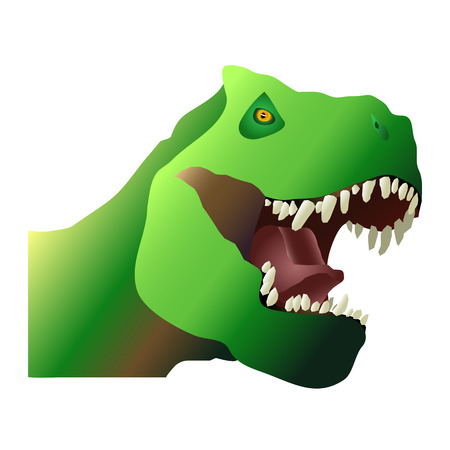 T-Rex with sharp teeth