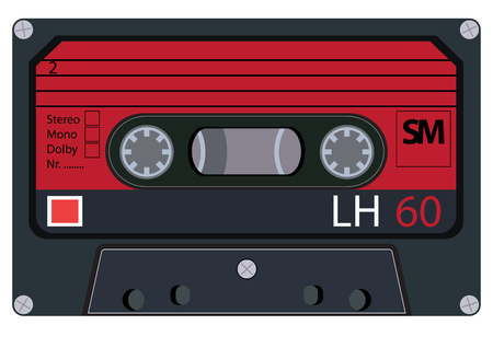 tapes: vintage audio tapes
