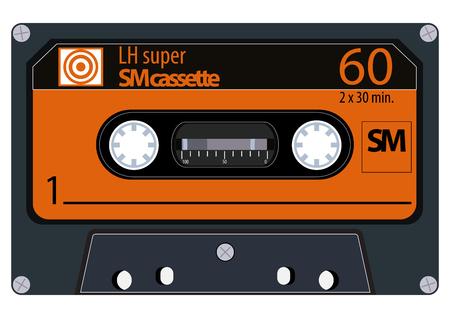 vintage audio tapes