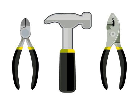 alicates: - herramientas de destornillador y alicates