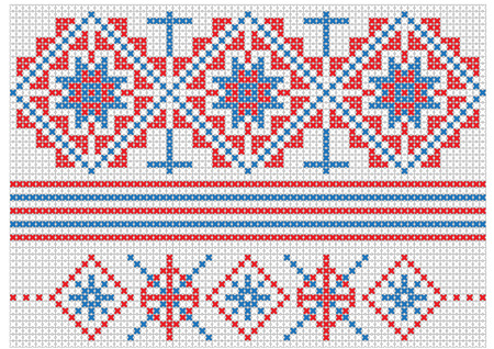 traditional pattern: Romanian traditional pattern Vector illustration Illustration