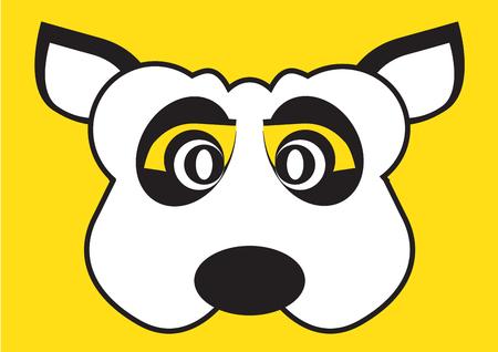 mimic: Dog party mask face