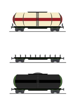 colorful train car vector
