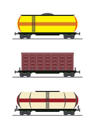 colorful train car vector vagon