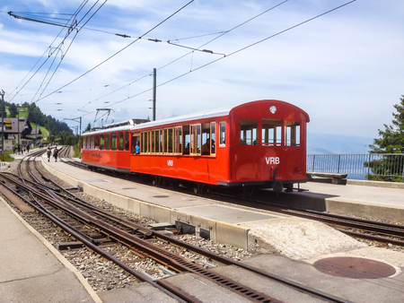 Rigi Railways, the highest standard gauge railway in Europe: Standard gauge rack railways, the Vitznau–Rigi Bahn (VRB).