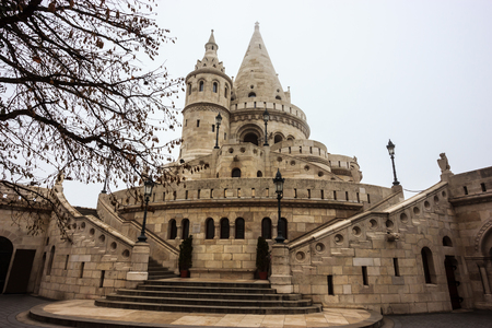 fisherman bastion: Fisherman Bastion, Budapest, Hungary, Europe. Editorial