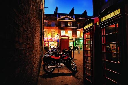 Китайский квартал в Лондоне вечером